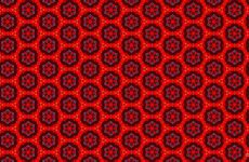Red pattern wallpapers