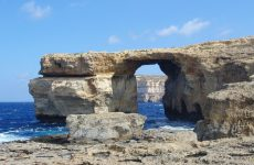 The Azure Window in Malta