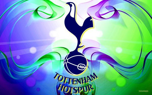 Blue green Tottenham Hotspur wallpaper.