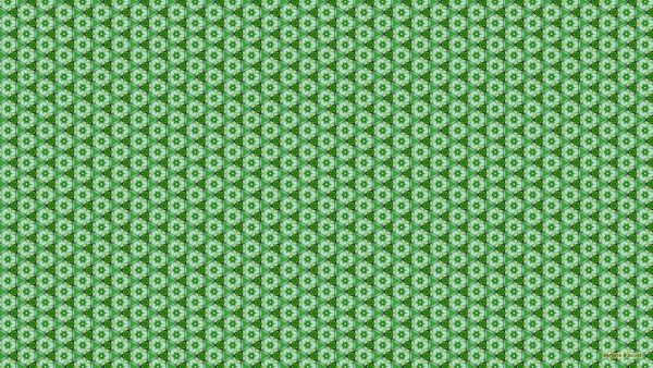 Green white pattern wallpaper.