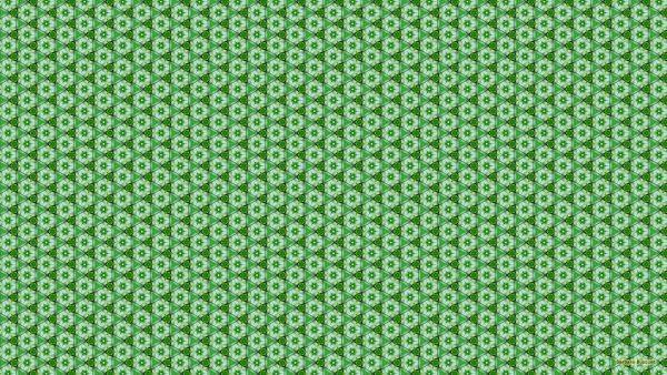 Green white pattern wallpaper.
