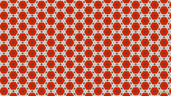 Desktop background in orange and white colors.