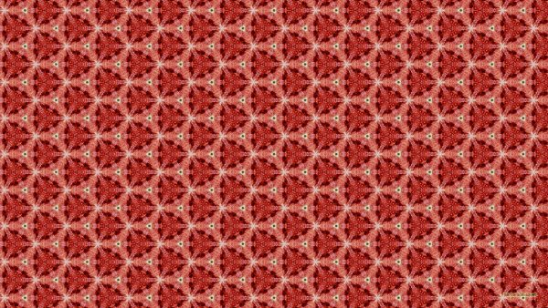 Pattern wallpaper with red figs.