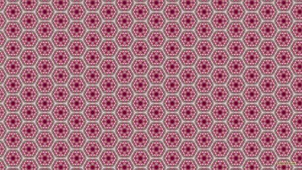 Pink tiles wallpaper.
