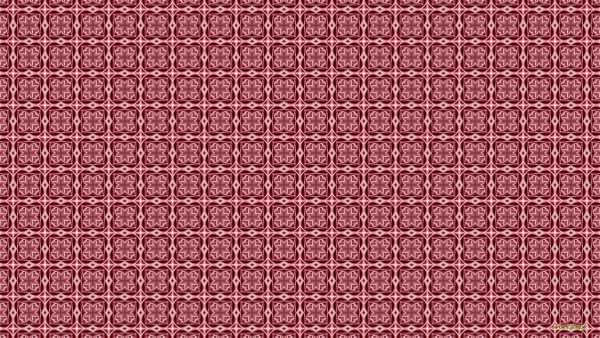 Red square pattern wallpaper.