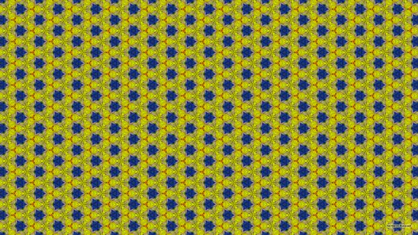 Yellow blue triangle shape wallpaper.