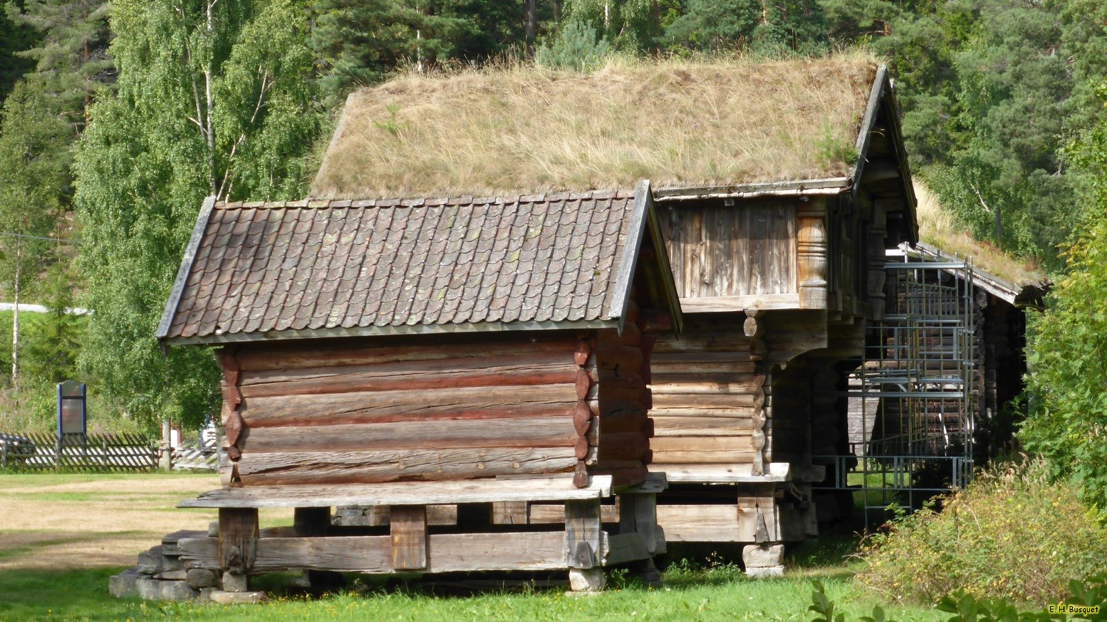 Wooden Log Cabins Barbaras Hd Wallpapers