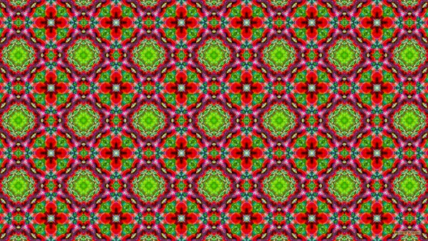 Colorful abstract pattern wallpaper