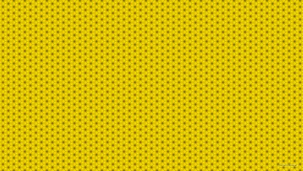 Darker yellow pattern wallpaper