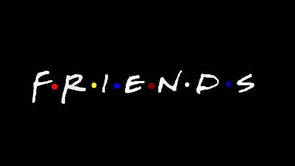 Friends logo wallpaper