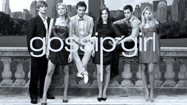 Gossip Girl wallpaper BW