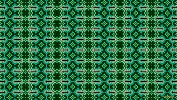 Green blue black pattern background