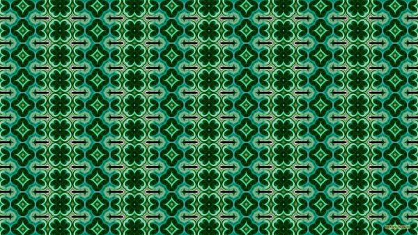 Green blue black pattern background