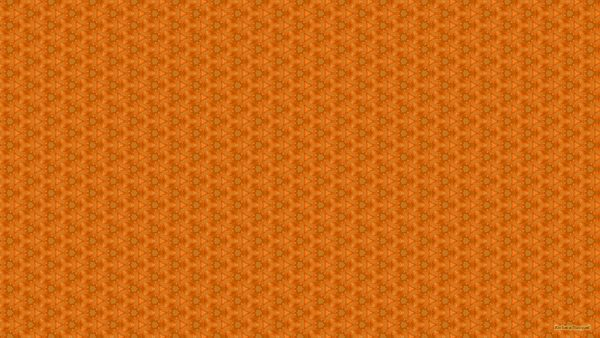 Pattern wallpaper in dark orange