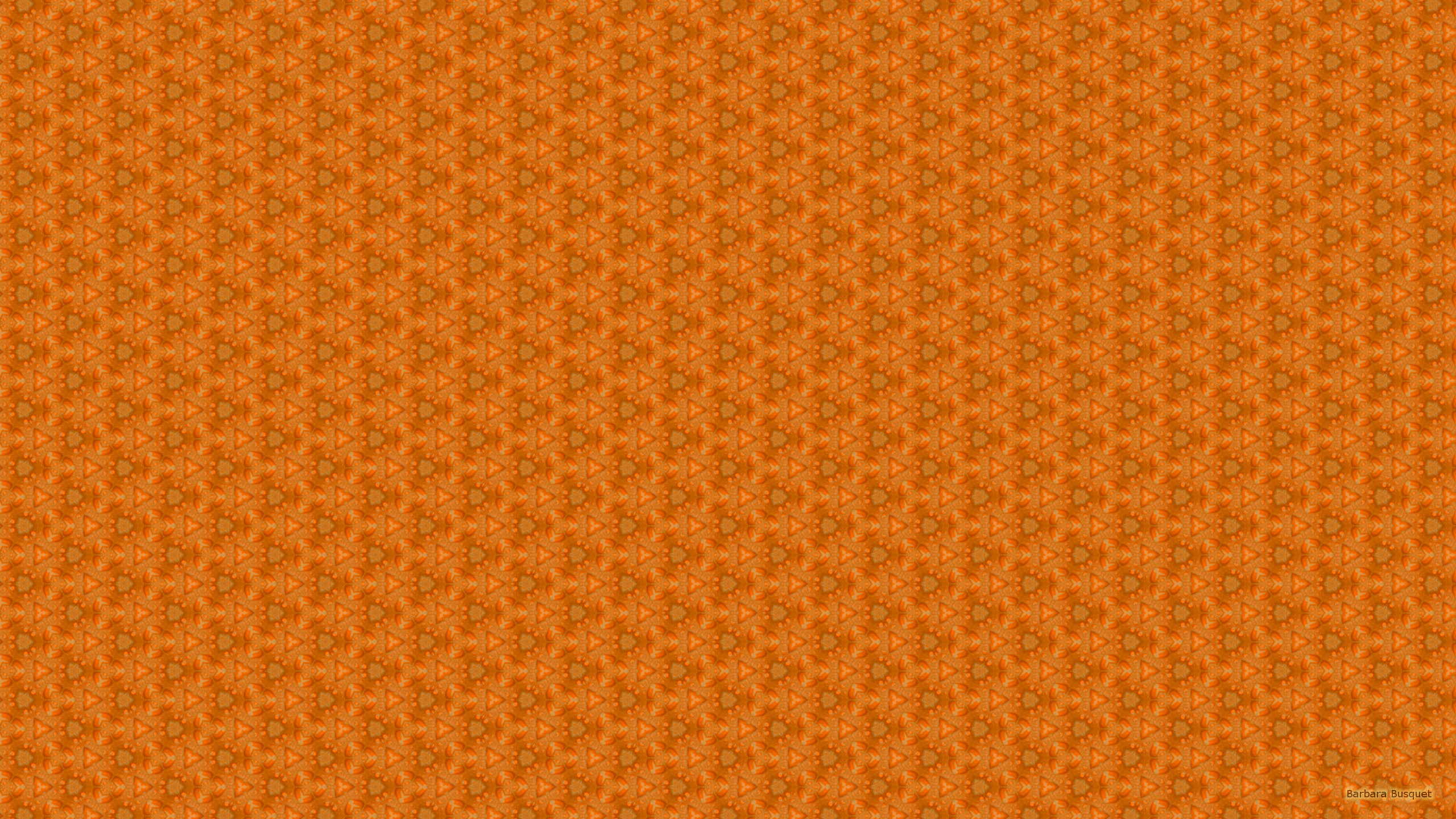 Orange Pattern Barbara S Hd Wallpapers
