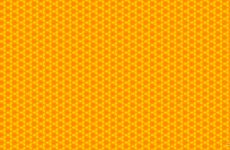 Orange pattern wallpapers