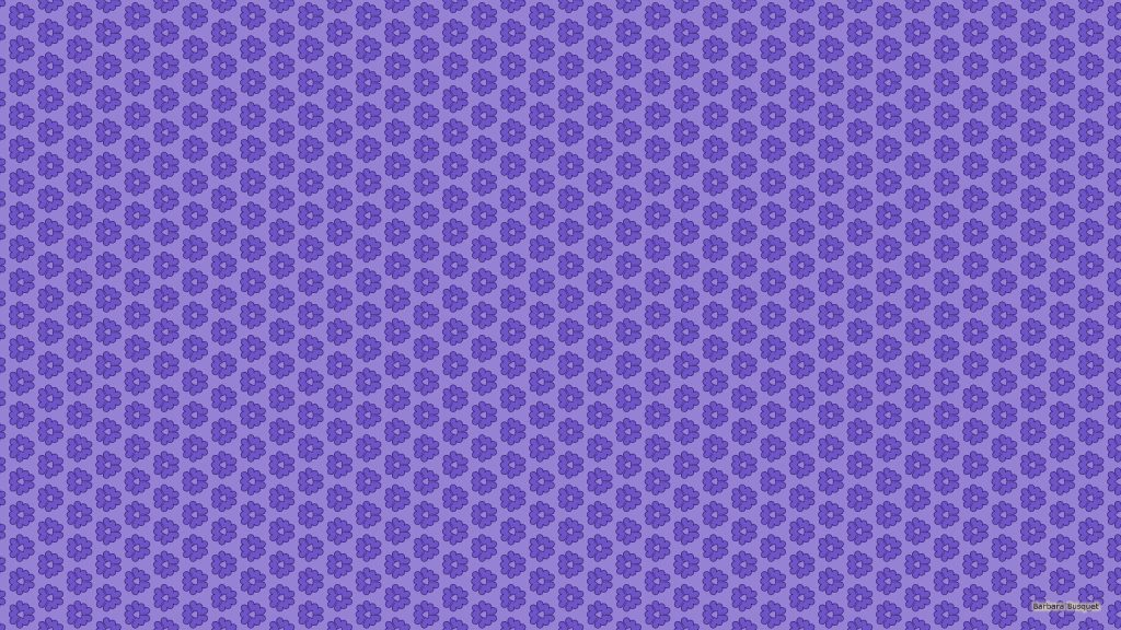 Purple pattern wallpaper with small flower shapes