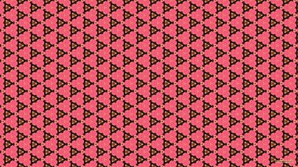 Pink black triangle wallpaper