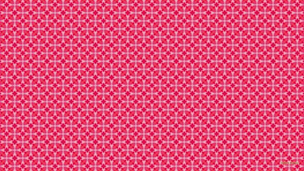 Pink white pattern wallpaper