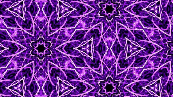 Purple wallpaper with grass pattern