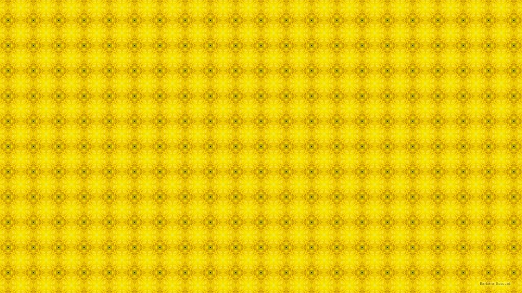 Yellow square pattern wallpaper
