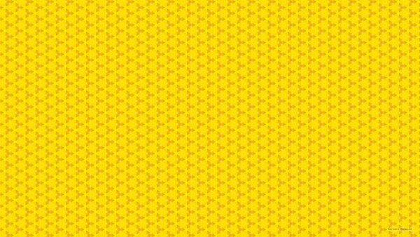 Yellow wallpaper with triangles