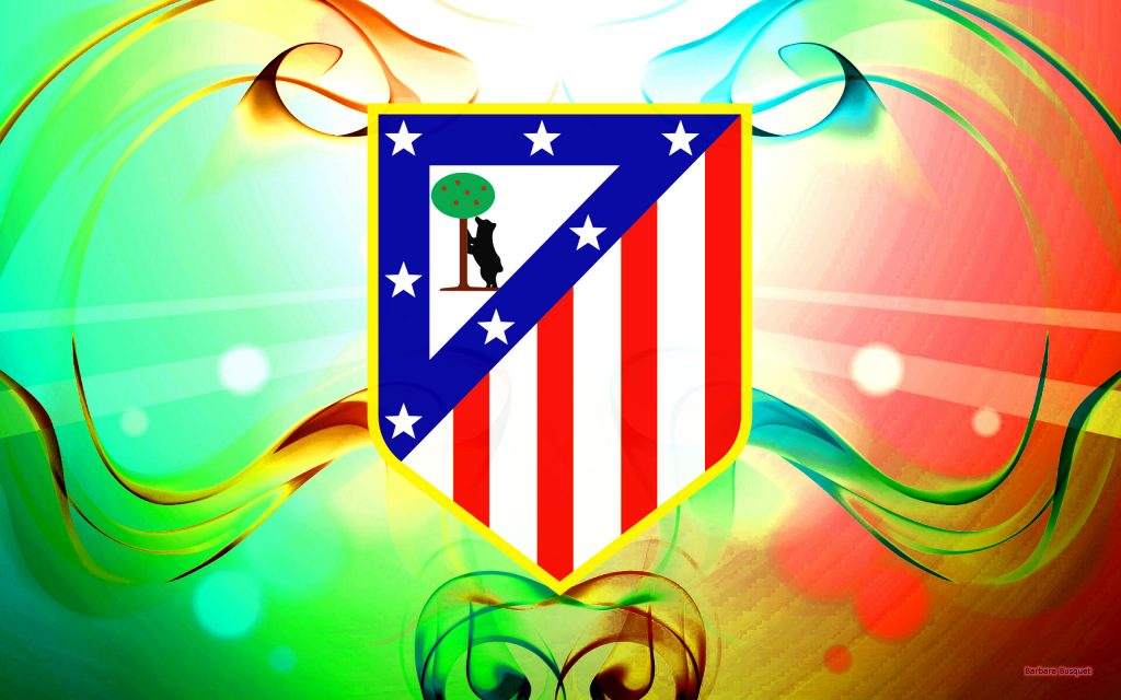 Atlético Madrid football club wallpaper.