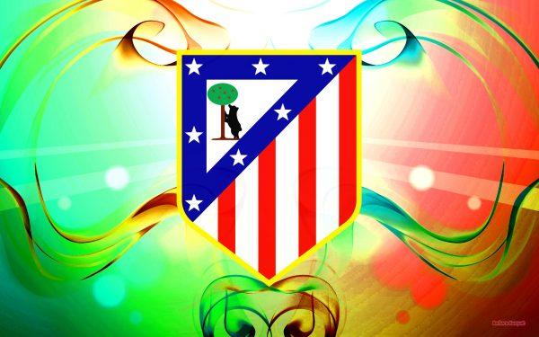 Atlético Madrid football club wallpaper.