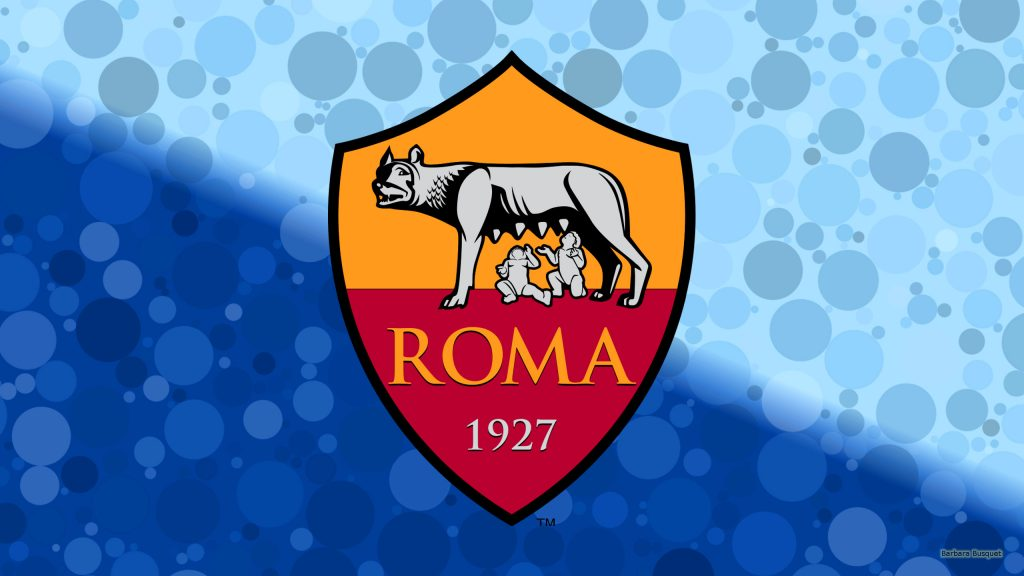 Blue A.S. Roma football wallpaper