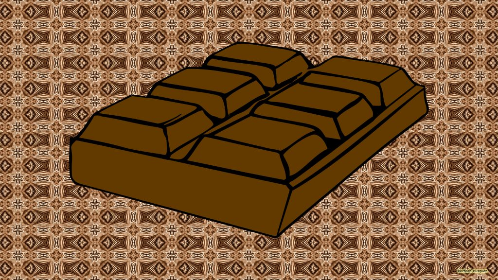 Chocolate bar wallpaper
