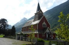Church in the mountains