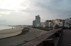 Dutch village at beach
