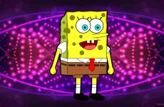 Yellow spongebob squarepants