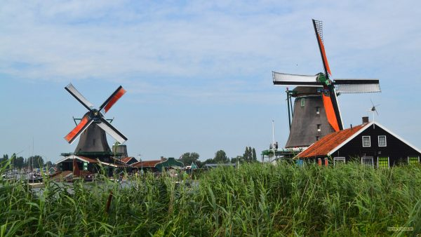 Famous mills in the Netherlands
