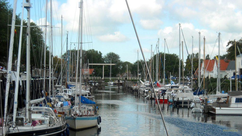 HD wallpaper little boats in river