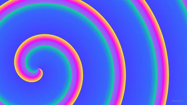 HD wallpaper with big spirals