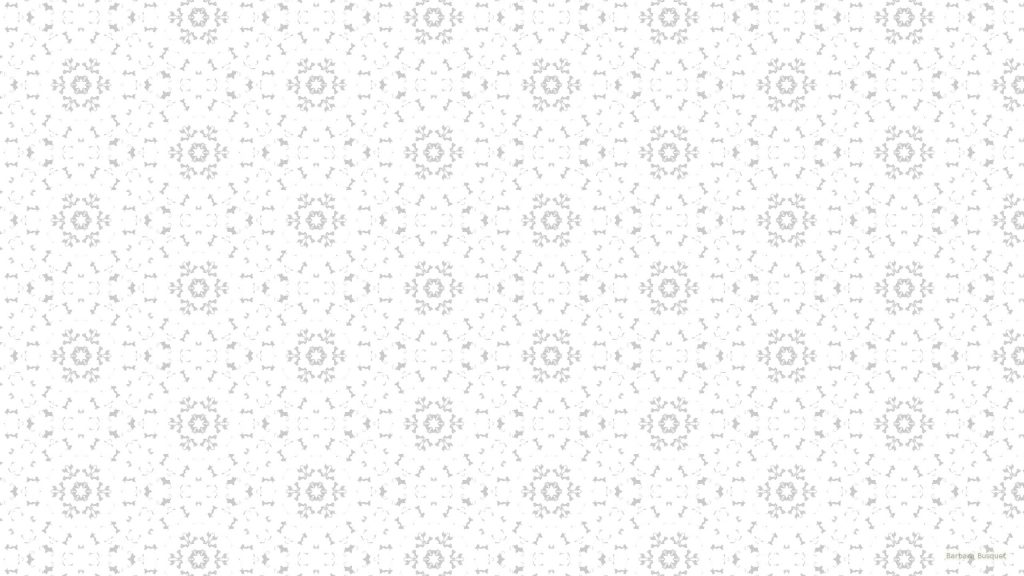 White pattern wallpaper with flowers
