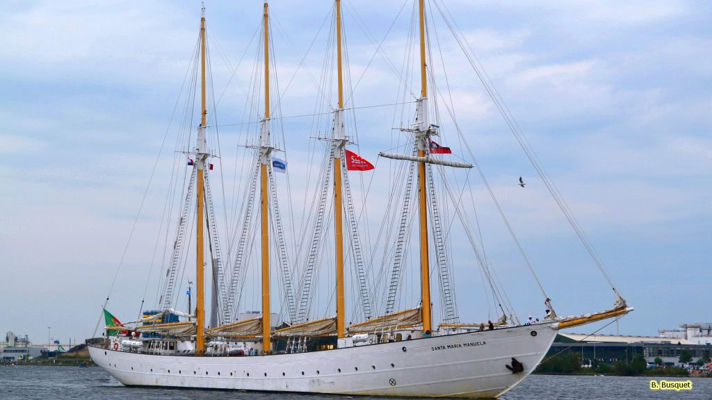 Huge sailship during Sail 2015