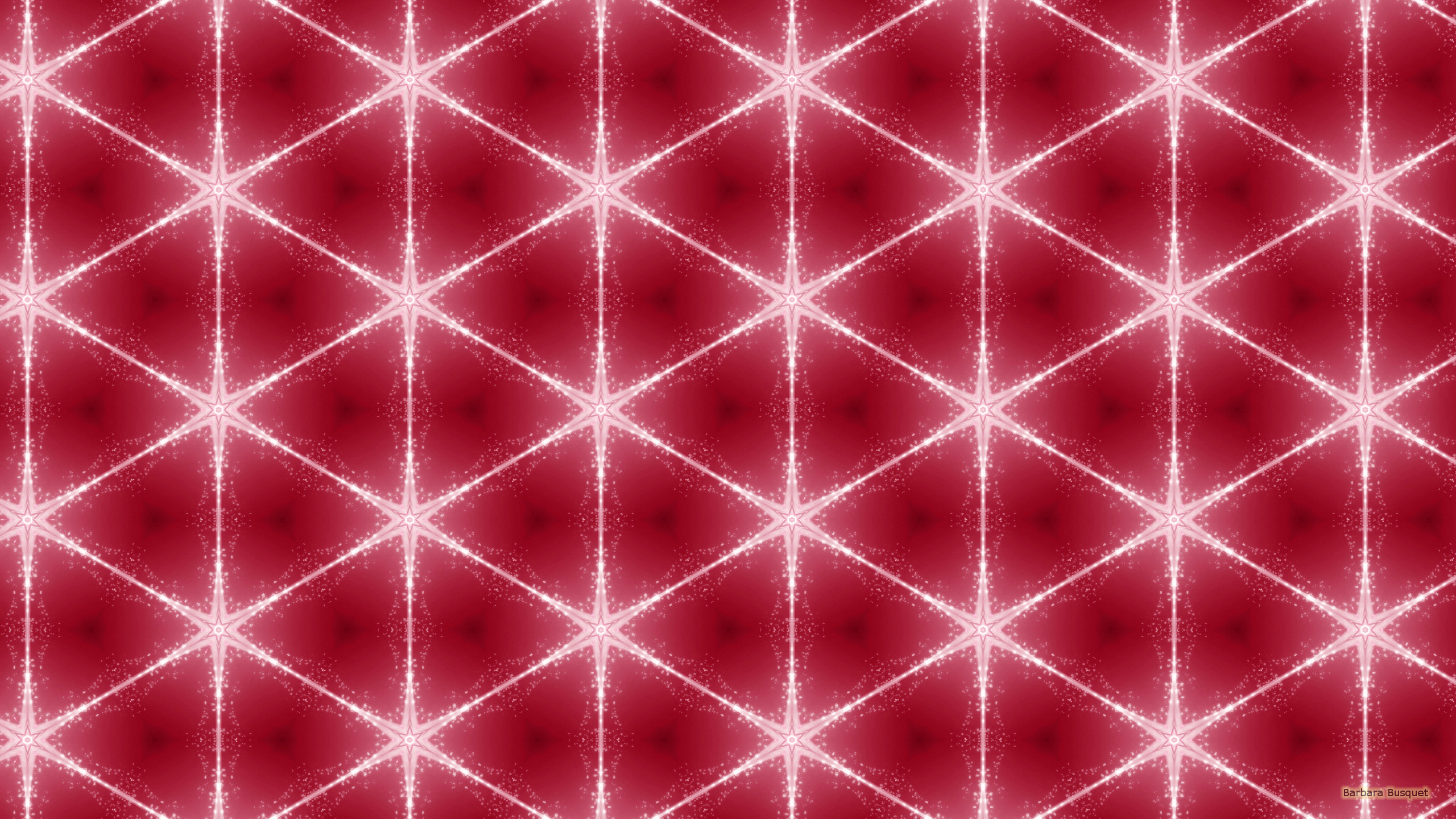 white stars on pink background - barbaras hd wallpapers