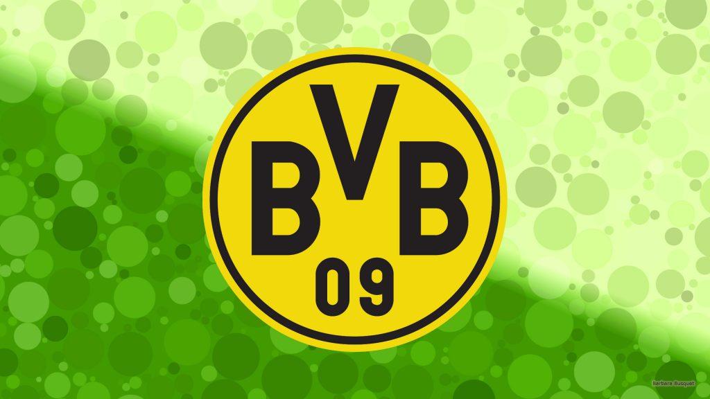 Green Borussia Dortmund wallpaper with circles