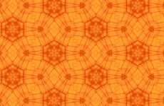 Orange star pattern wallpaper