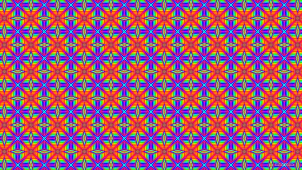Rainbow pattern wallpaper with many colors