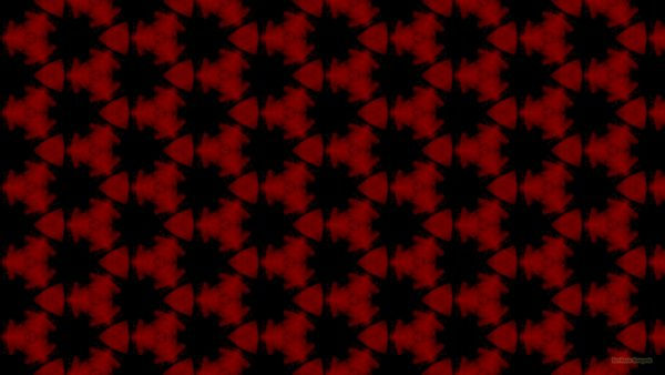 Red black pattern wallpaper