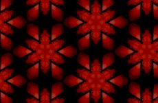 Mysterious red black wallpaper