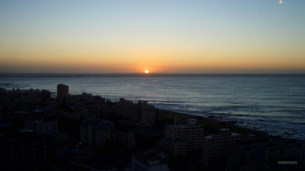Sunset in Cape Town.