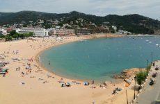 Sand beach in Spain