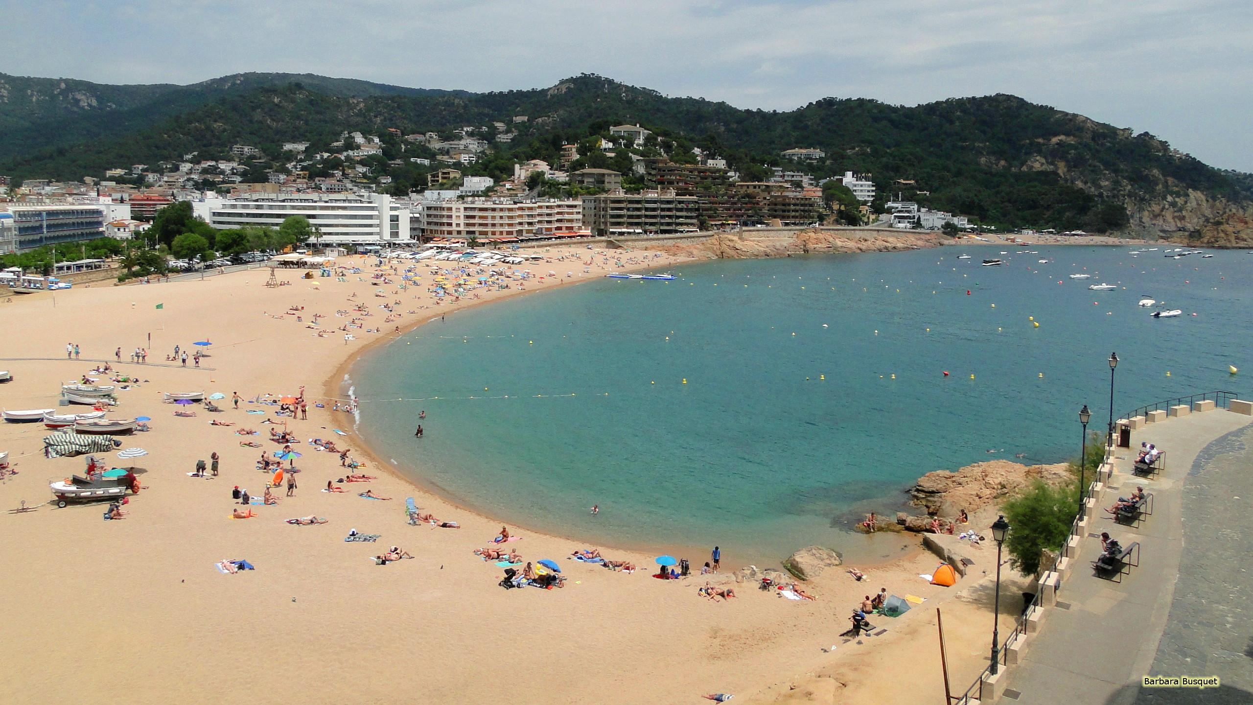 HD Wallpaper Beach In Spain