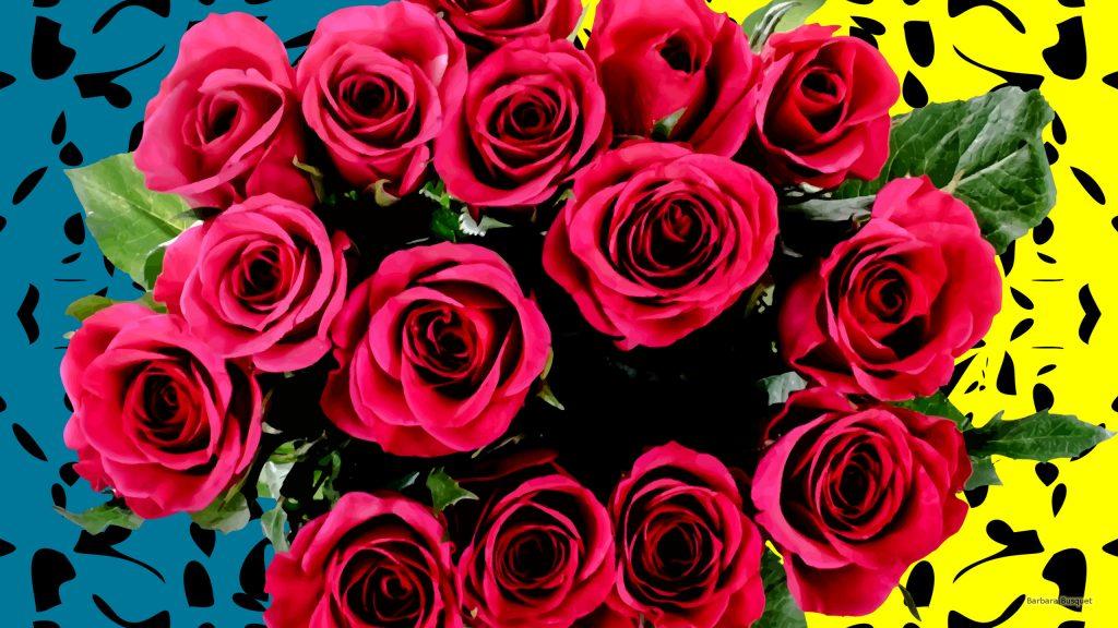 HD wallpaper bouquet pink roses