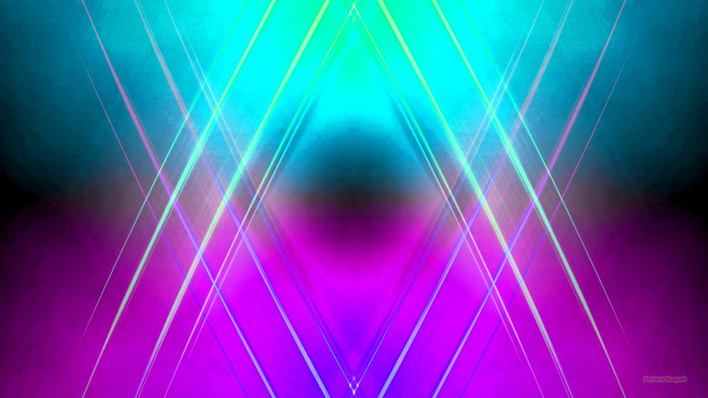 Abstract purple green blue wallpaper