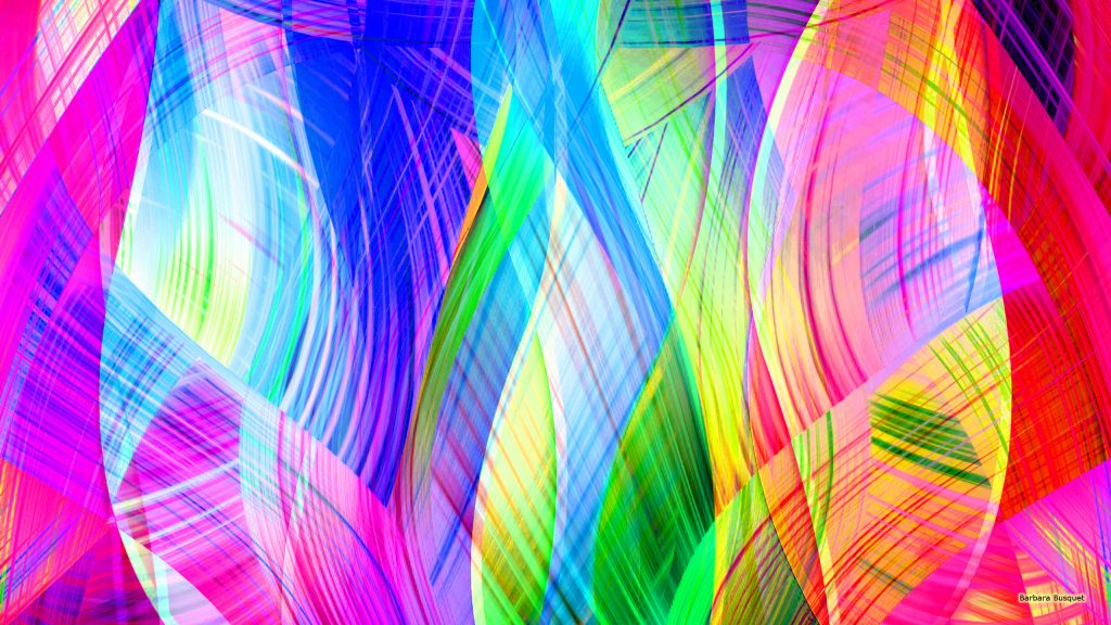 Colorful curves wallpaper with many colors